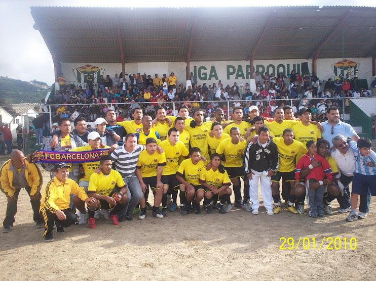 CLUB DEPORTIVO BARCELONA  CAMPEON 2010 / 2011