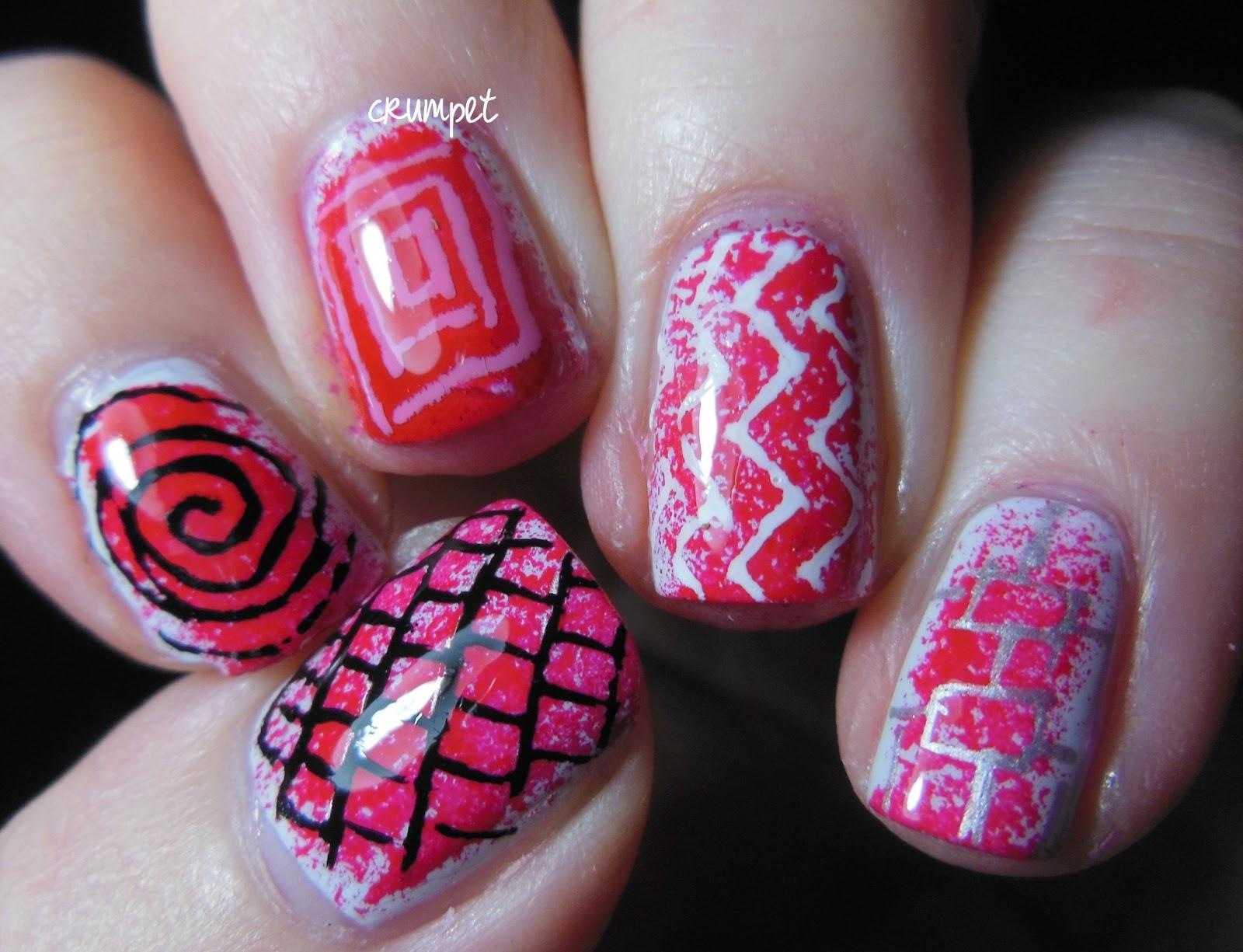 Big w nail art