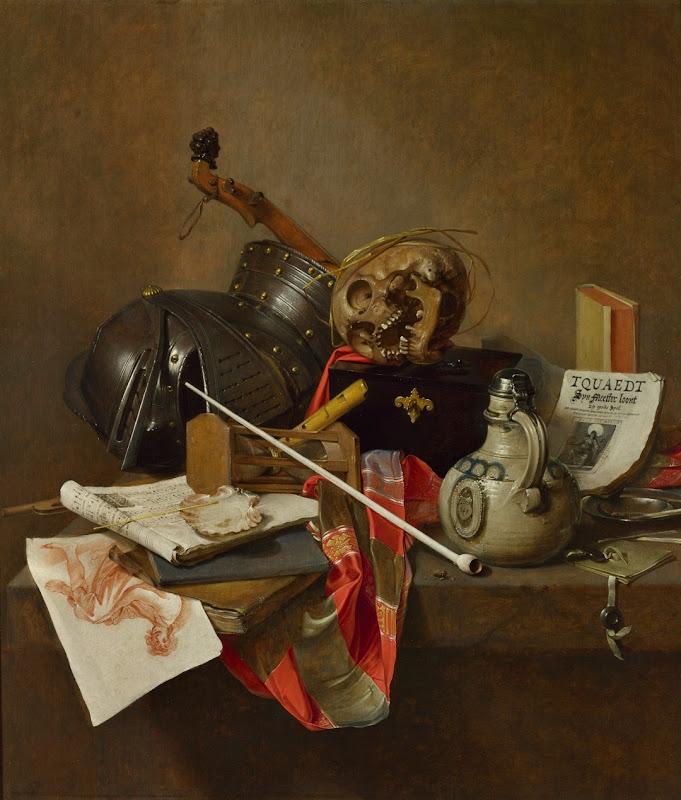Jan Jansz. Treck - Vanitas Still Life