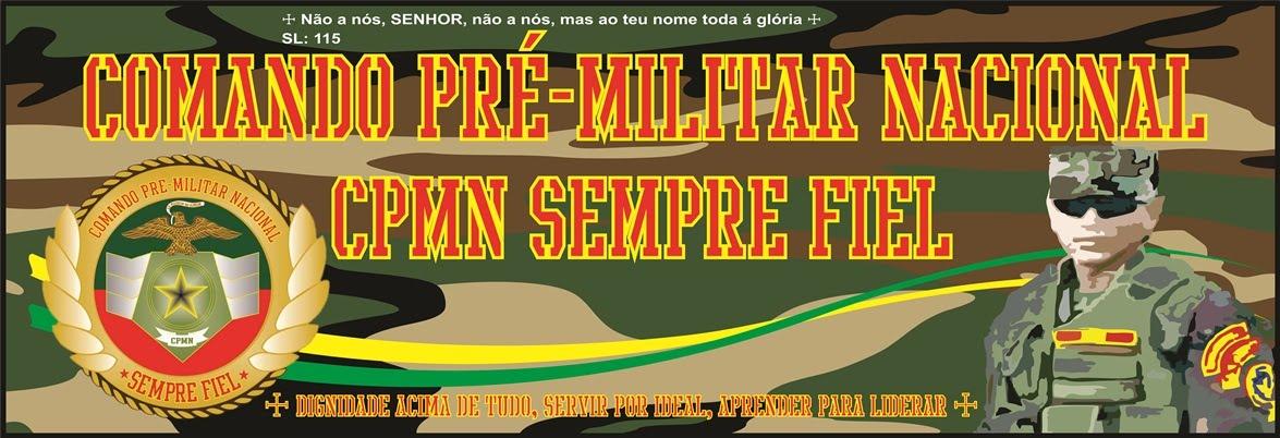 CPMN PRÉ MILITAR