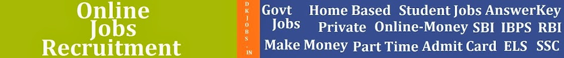 Free Jobs Alert : Govt-Private Jobs Recruitment-Vacancy 2014-2015