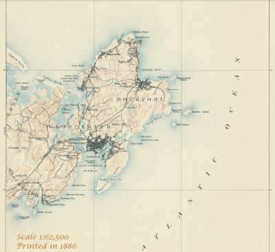 USGS Map 1886