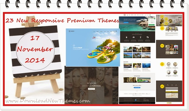 Best 23 Responsive Premium Themes