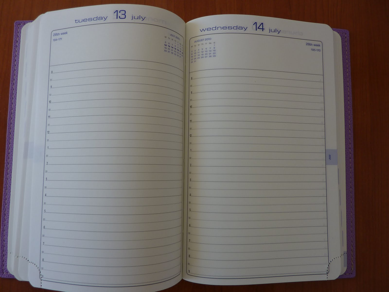 plannerisms 2014 quo vadis journal 21 day per page planner