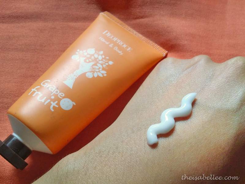 Deoproce Hand & Body Cream review