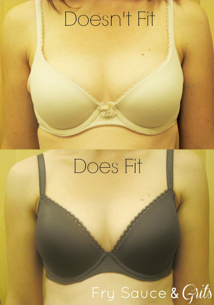 How to find right bra size from FrySauceandGrits.com