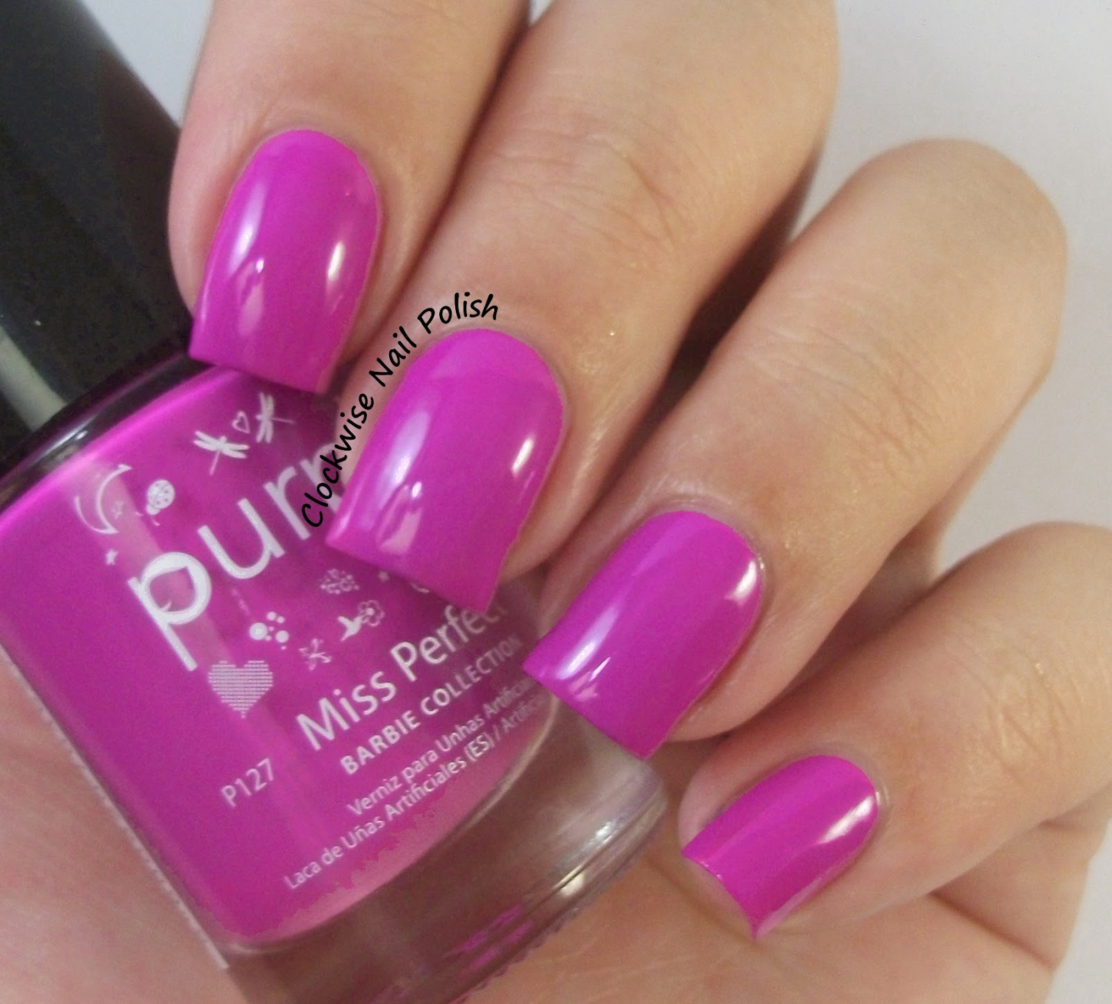 ... Nail Polish: Purple Professional Barbie Collection Review & Nail Art