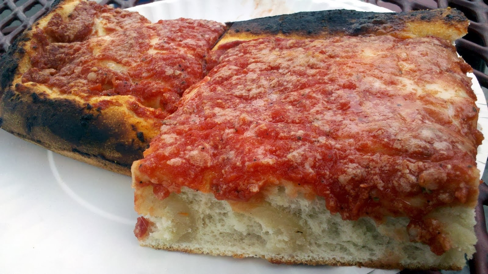 style pizza homemade philadelphia tomato pie style pizza recipes ...