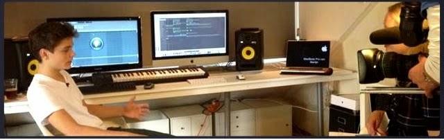 Peralatan studio Martin Garrix