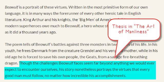 beowulf and odysseus hero comparison
