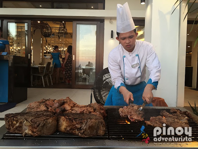 Grilling Station at Sea Breeze Restaurant Boracay