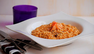 Risotto de fruits de mar
