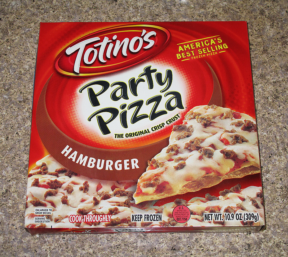 The Blog About Stuff™: Totino's Hamburger Party Pizza: Пати Пицца ...