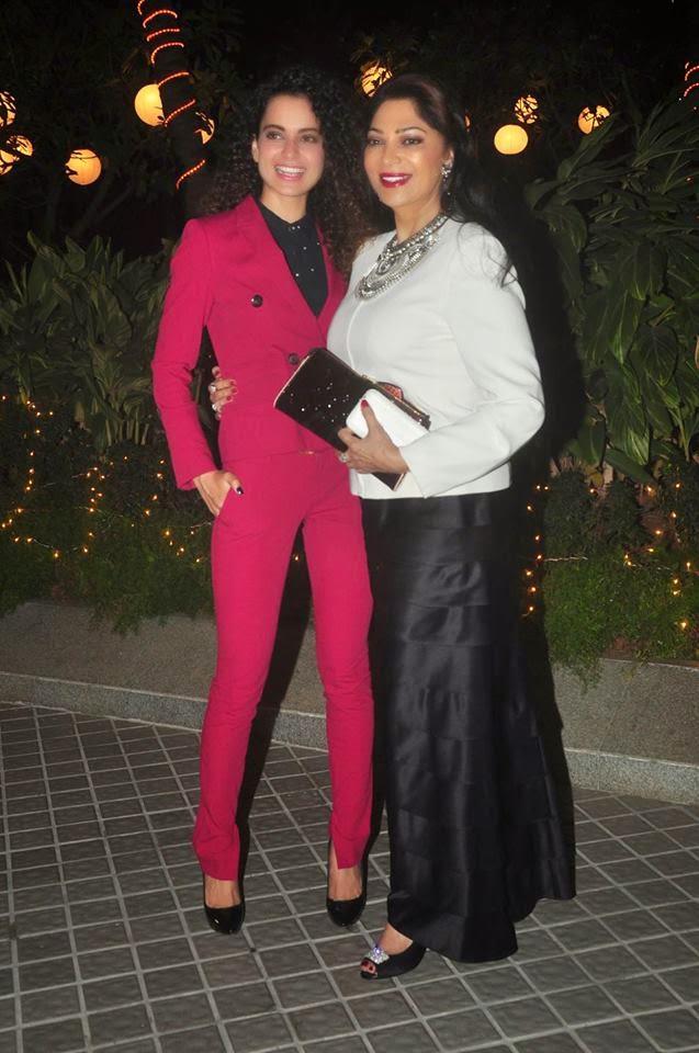 Ranveer, Deepika Padukone, Aishwarya & Karan Johar at Farah Khan's 50th birthday party