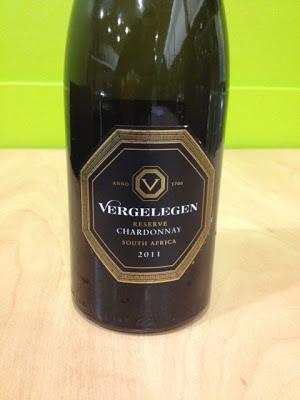Vergelegen Chardonnay Reserve 2011