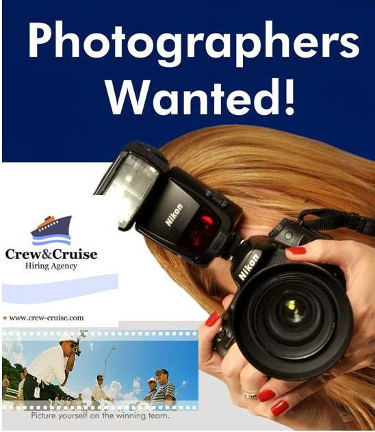 we are looking for photographers if hired you will have the chance to work for industry recognized leaders such as royal caribbean celebrity azamara - Cruise Ship Photographer