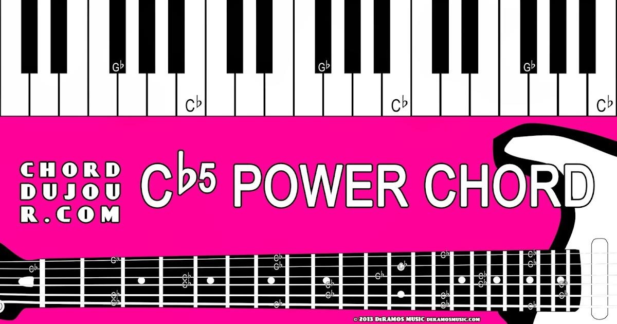 Chord Du Jour Dictionary Cb5 Power Chord