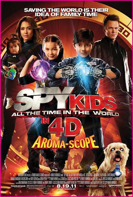 Spy Kids All the Time in the World (2011)