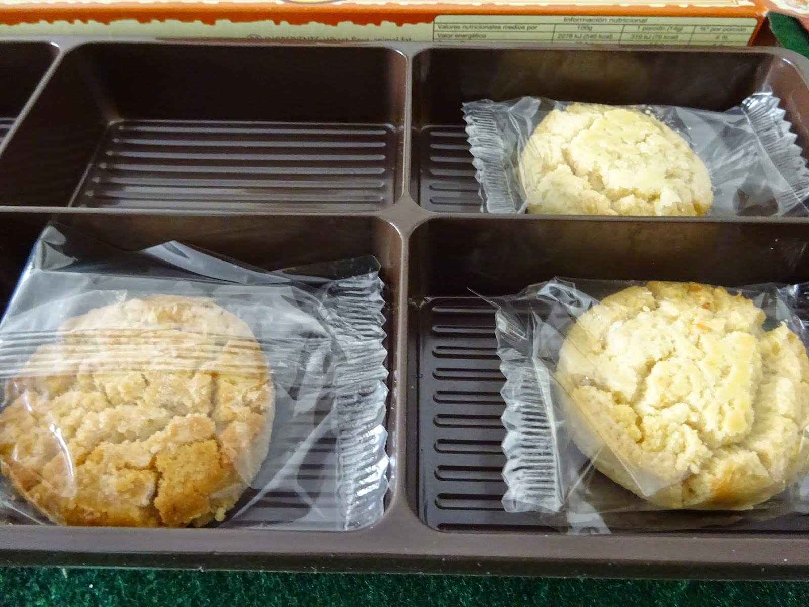 Pastas de Naranja