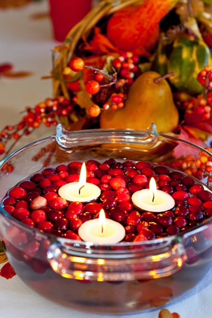 Decata designs 15 diy thanksgiving centerpieces for Thanksgiving centerpieces with candles