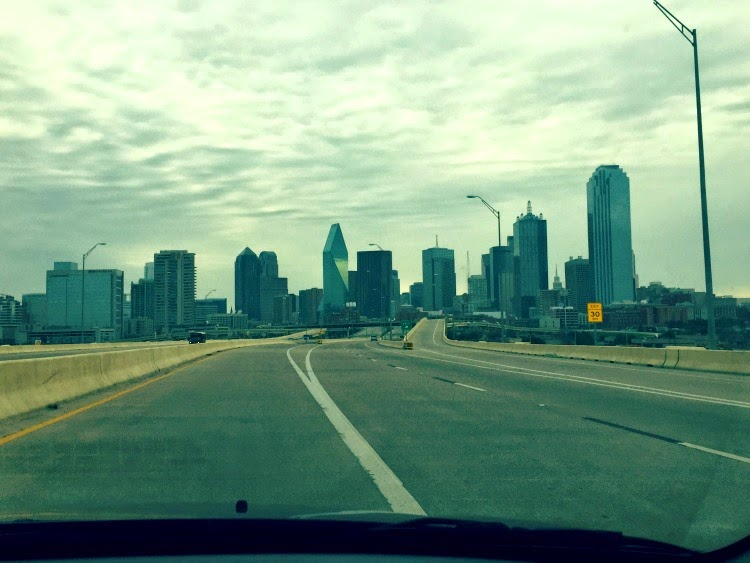 Saying goodbye to Dallas until next time!