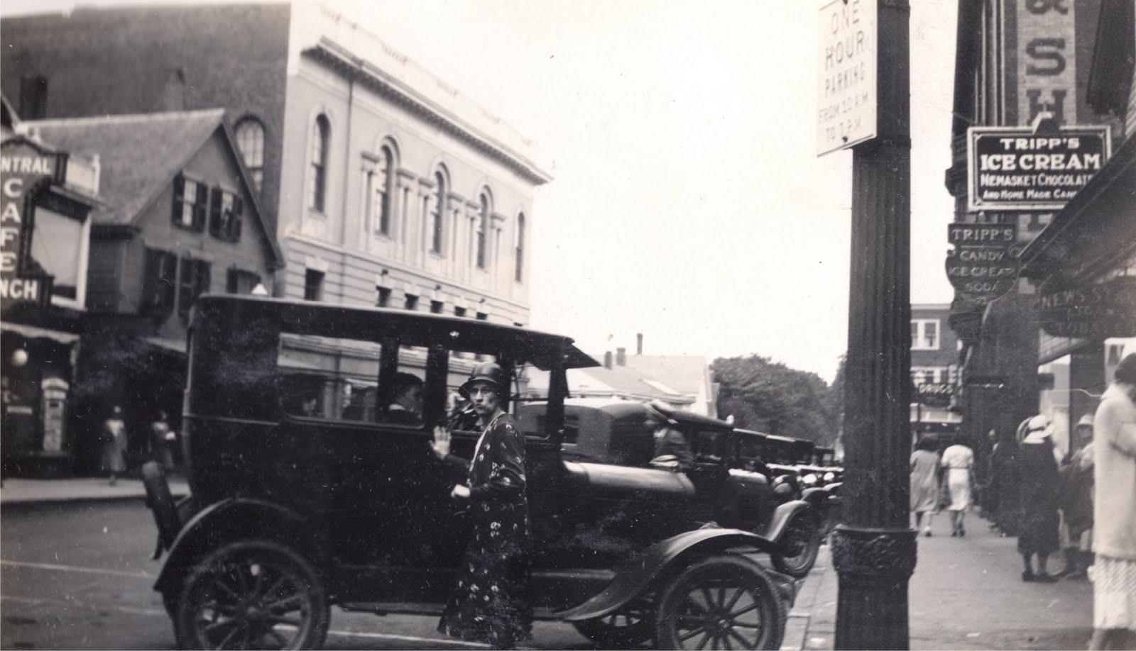 Downtown Middleborough 1932
