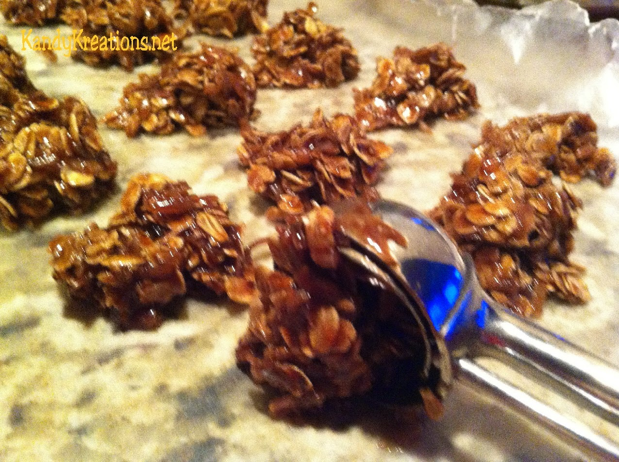 No-Bake-Cookies-using-a-cookie-scoop