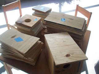 Birdhouse pieces