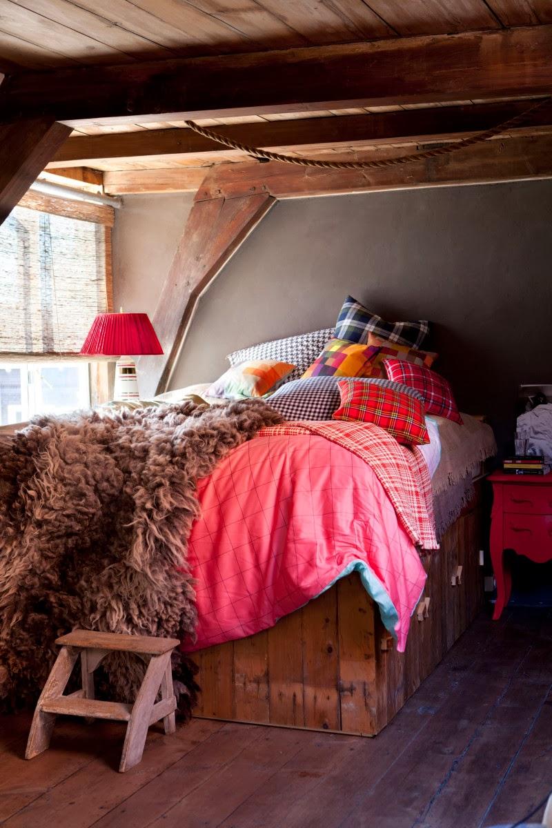 ekose yatak odası
