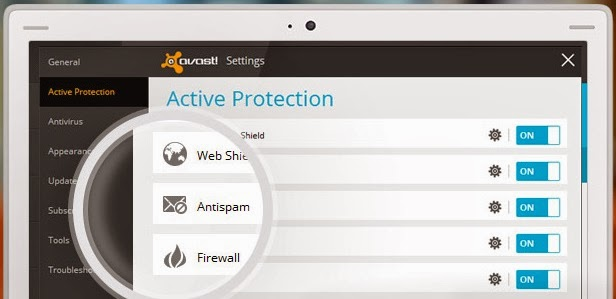 Tecnología AntiSpam Avast! 2014