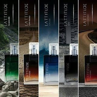 Novos Perfumes Hinode 2016 - Lattitude