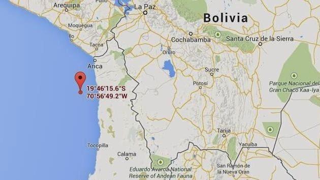 TERREMOTO 6,1 GRADOS SACUDE NORTE DE CHILE, 23 DE MARZO 2014