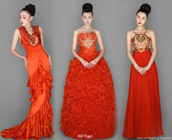 Wedding collections chinese wedding dress for Wedding dresses in china