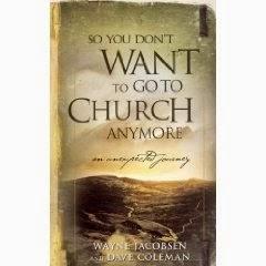 ¿Así que ya no quieres ir a la iglesia?