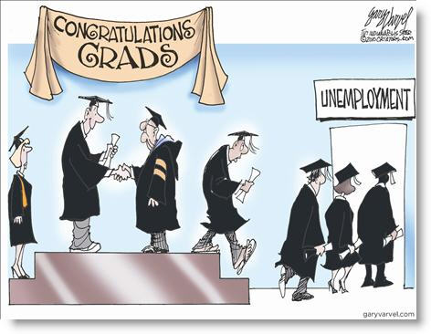after graduating from