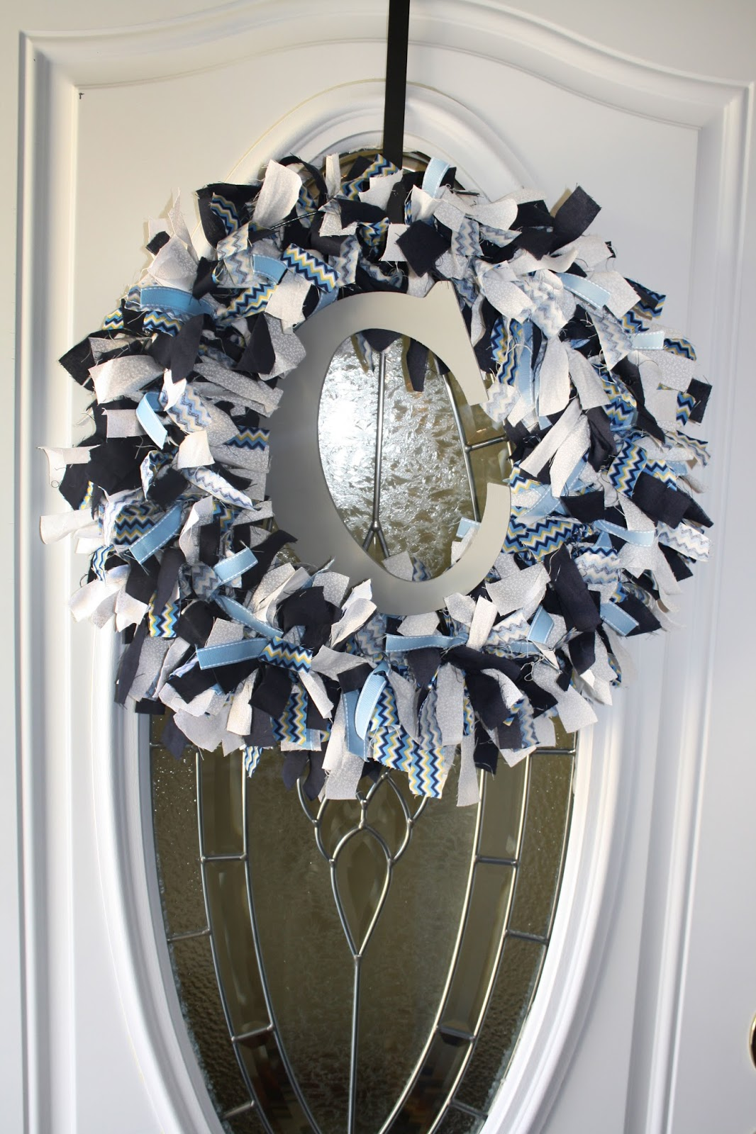 baby shower, baby boy, door wreath