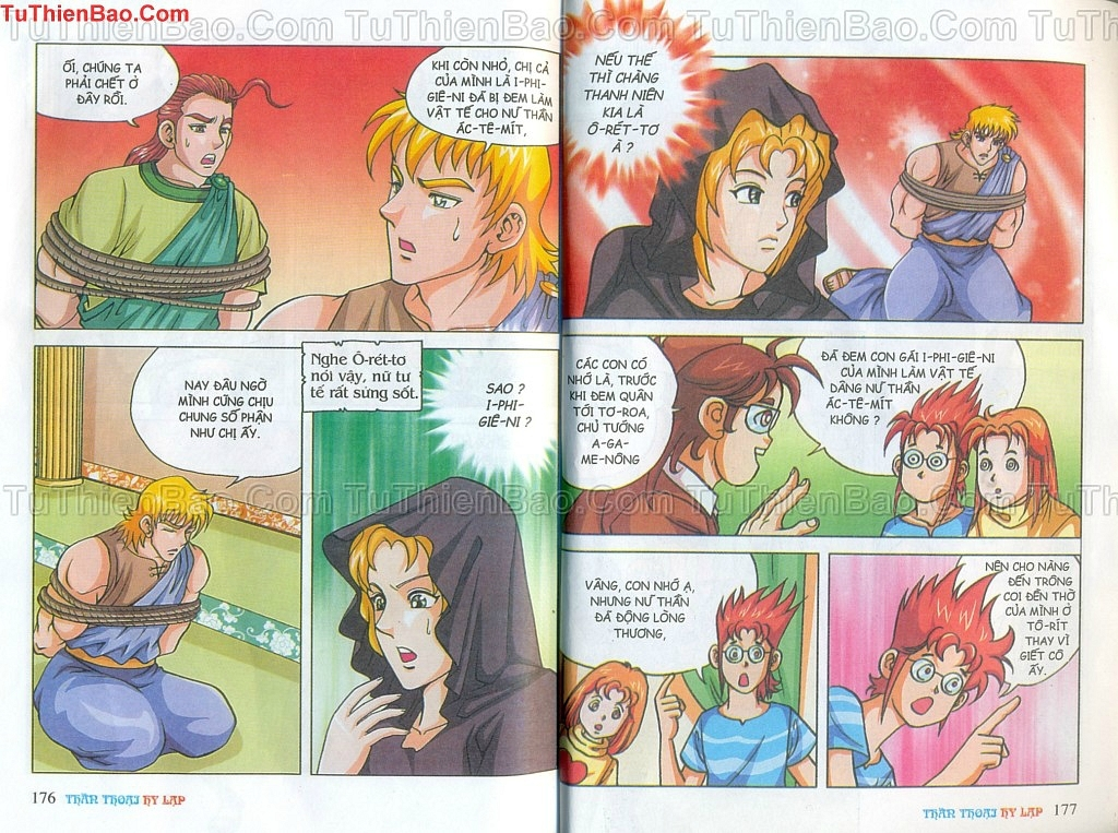 Thần thoại Hy Lạp Chapter 14 - Trang 87
