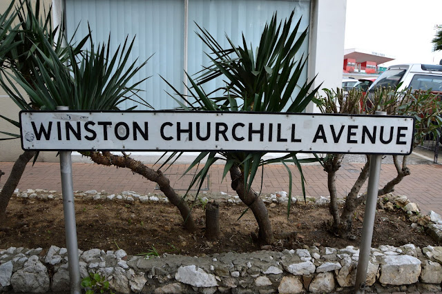 Winston Churchill Avenue. Gibraltar