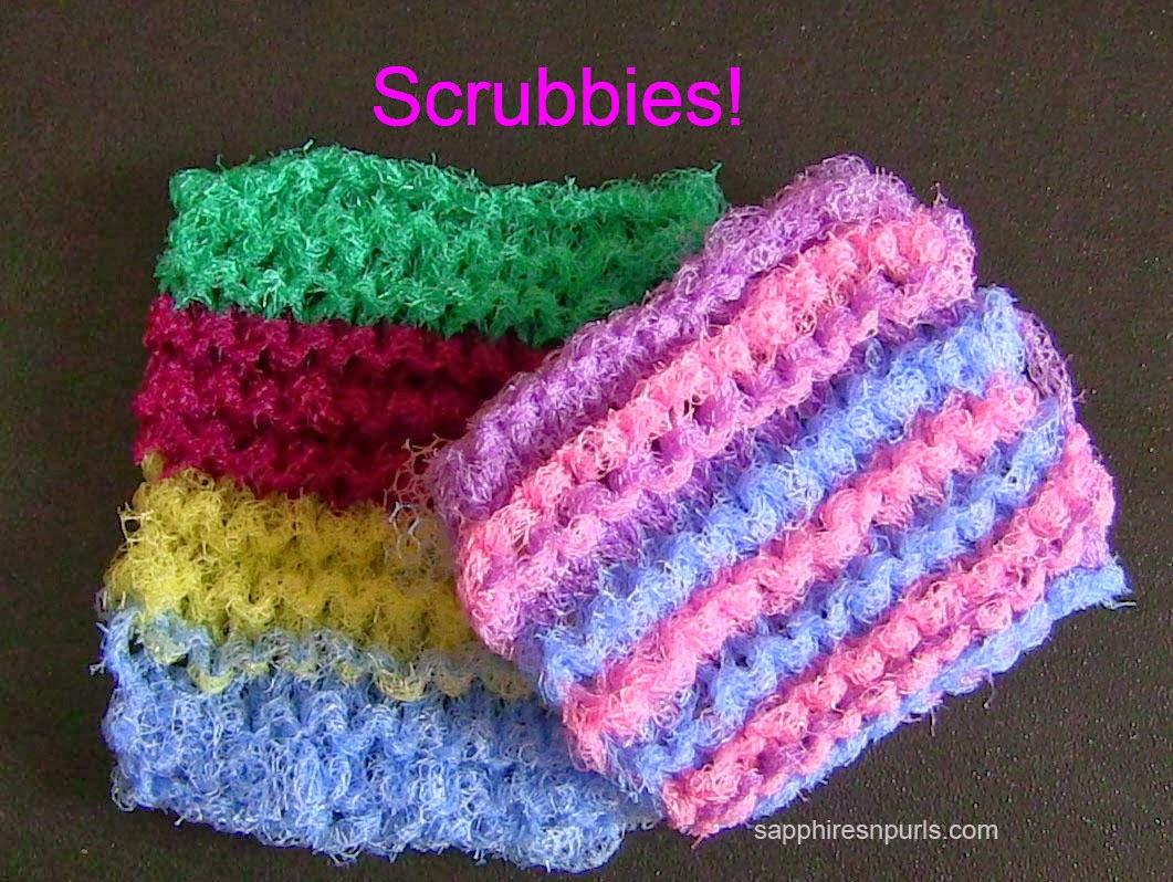 Knitting Equipment For Disabled : Scrubbies.jpg