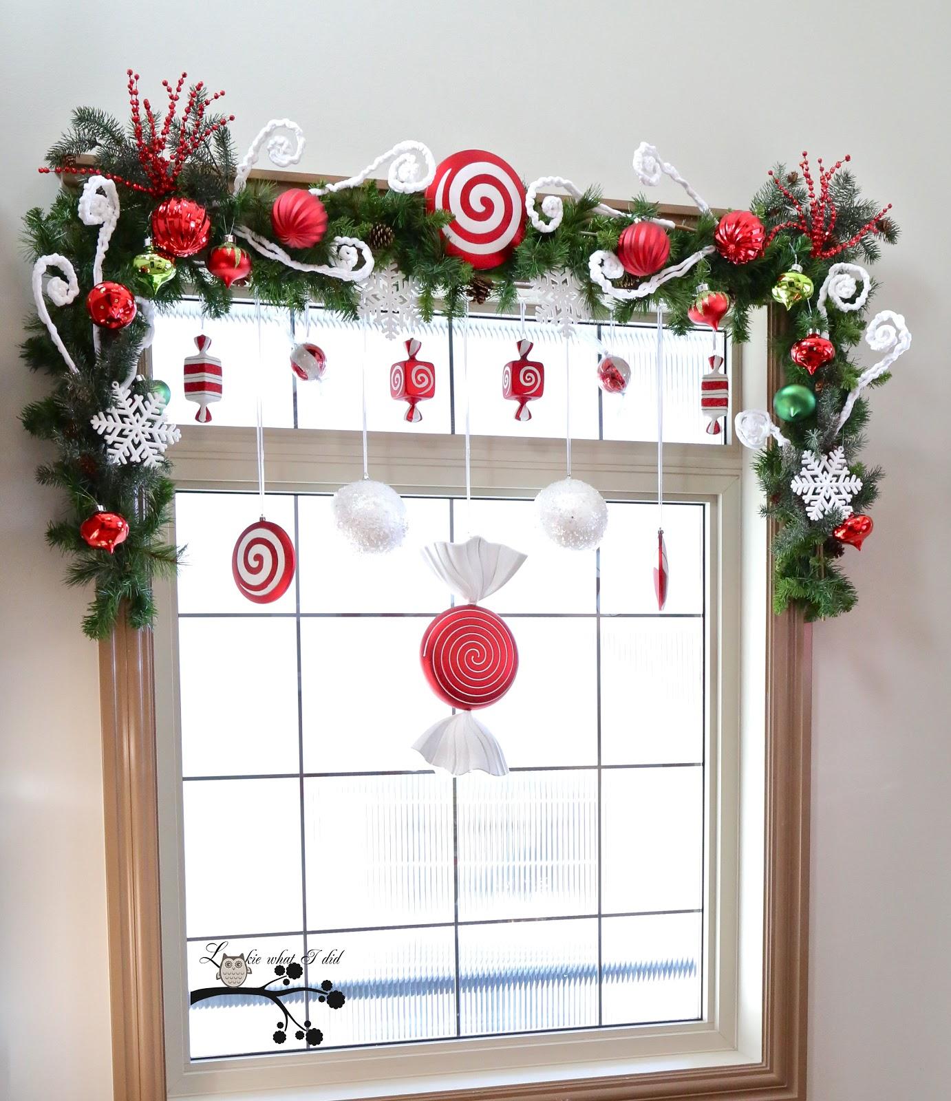 Как украсить окна на новый год своими руками фото
