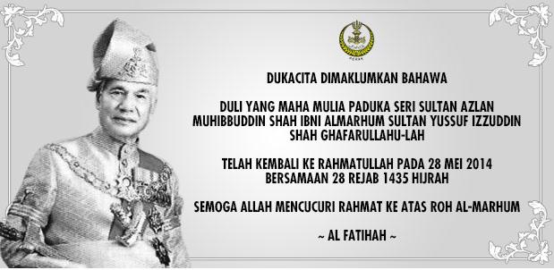 Sultan Perak Mangkat