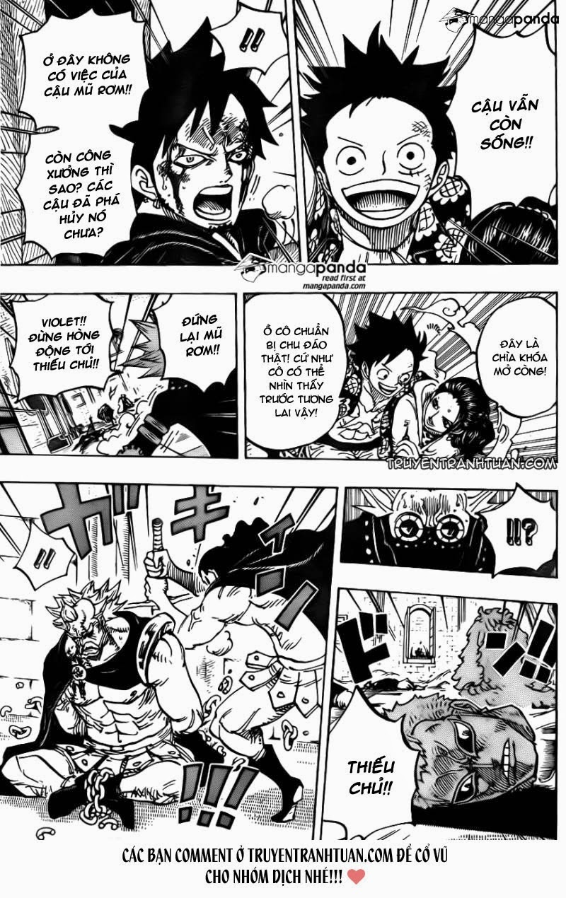 one piece chap 744 trang 019, One Piece chap 744   NarutoSub