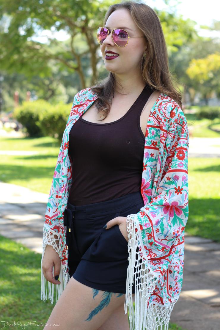 look com kimono