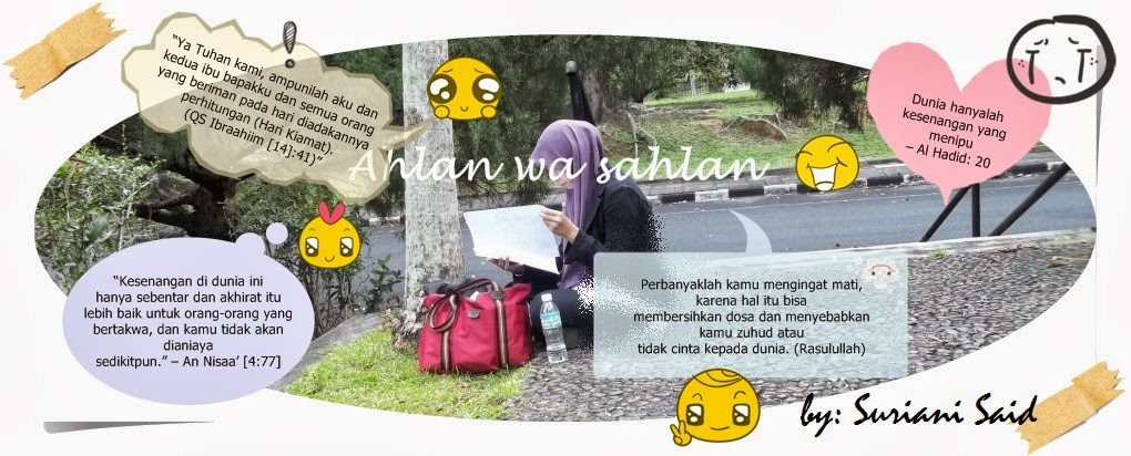 By: Suriani Said