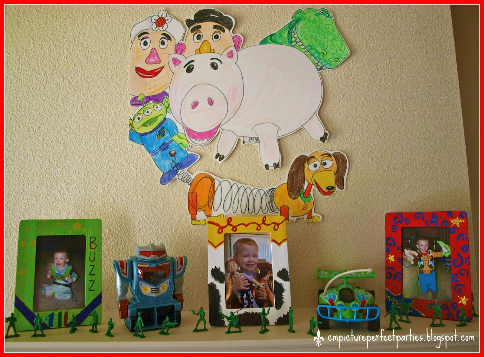 Measurements of Merriment: Toy Story Birthday Party