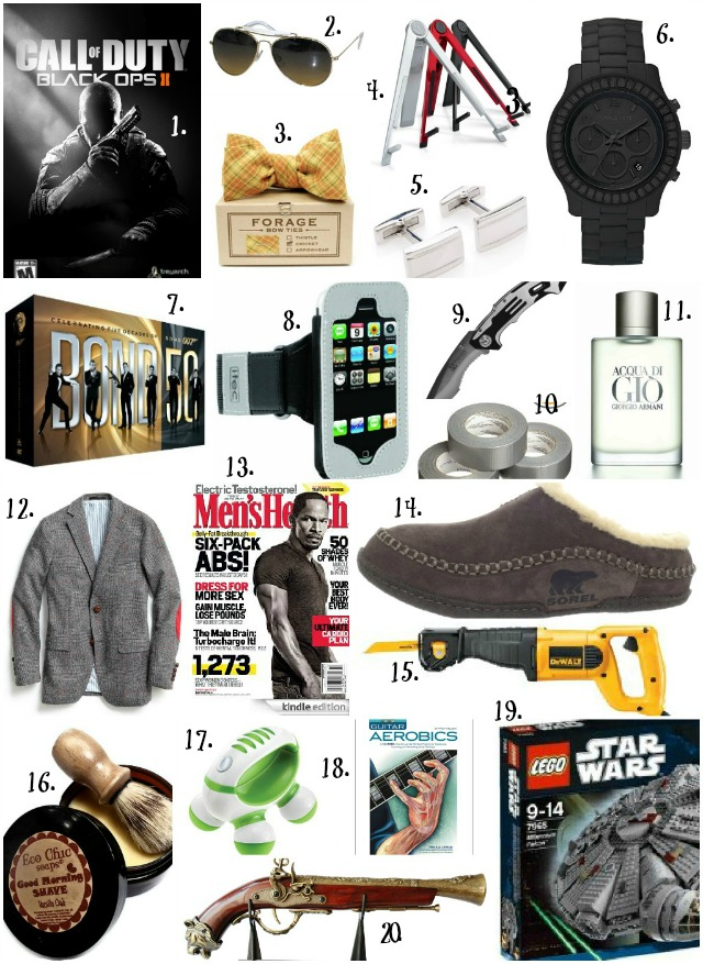 The freckled fox martin 39 s wishlist a gift guide for 39 him 39 for Best christmas gifts for boyfriend 2012
