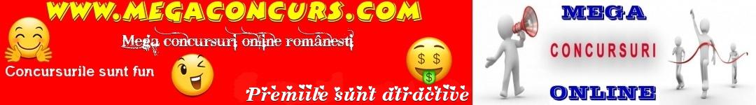 Mega concursuri online românești.