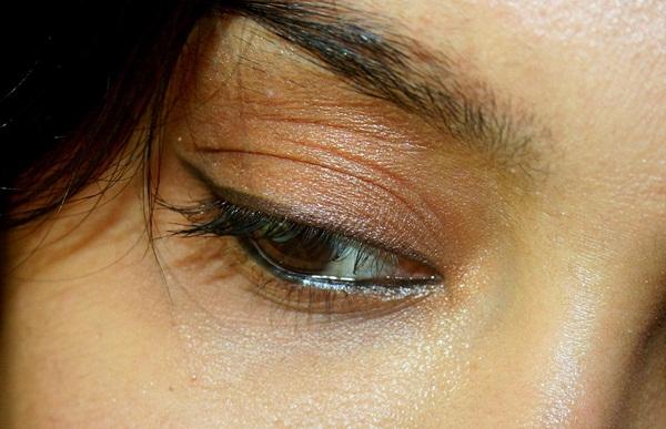 Bobbi Brown Long-Wear Gel Eyeliner in Chocolate Shimmer Ink EOTD