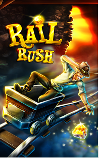 Free Download Rail Rush APK Android Games