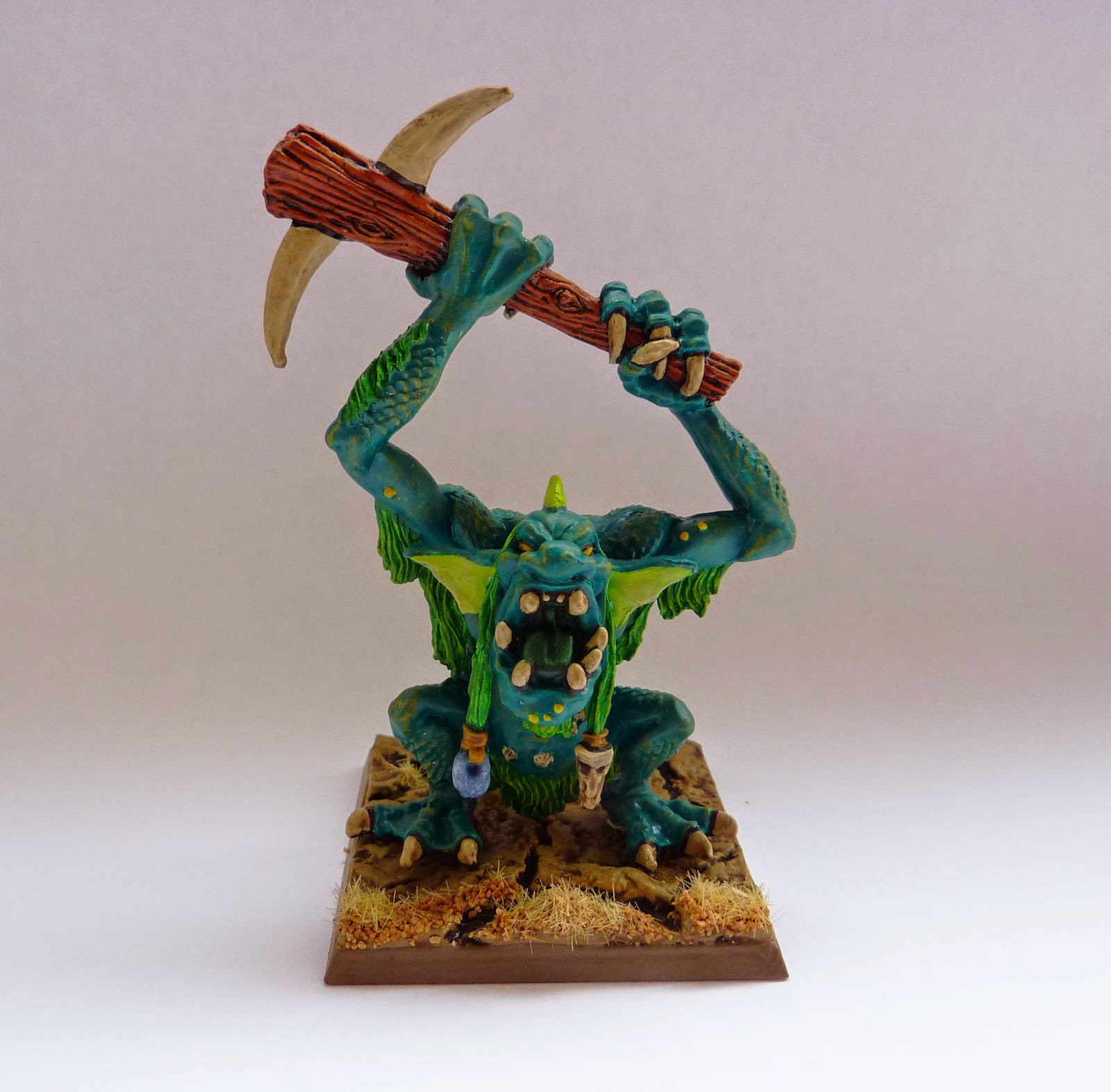 Classic Warhammer River Troll